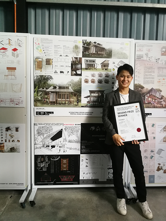 ARCHITECTURE  STUDENTS  WIN DESIGN AWARDS AT KLAF 2019